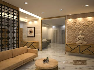 Living room by Urban Shaastra ,
