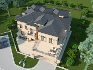 Римини_953 кв.м: Дома в . Автор – Vesco Construction