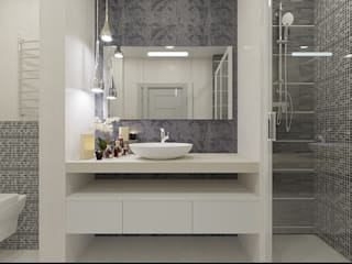 Baños de estilo  por YZ-design, Moderno