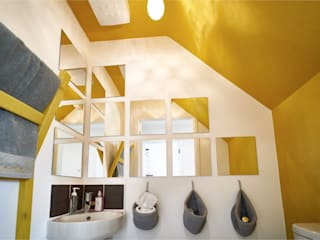 The Yellow Room:  Bathroom by Aorta the heart of art