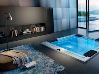 SPA Deluxe GmbH - Whirlpools in Senden BathroomBathtubs & showers White