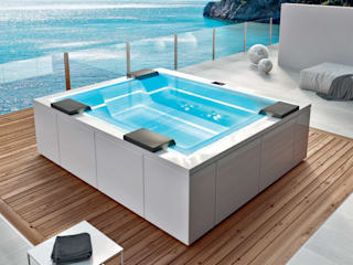 SPA Deluxe GmbH - Whirlpools in Senden Garden Swim baths & ponds White