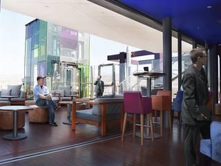 Infografías Para Hotel: Terrazas de estilo  de SP_Arquitectura