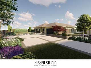 Hibner Studio Jardin moderne