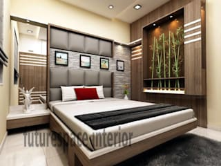 Bedroom Design Modern style bedroom by Future Space Interior Modern
