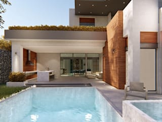 Garden Pool by DAMAJO Grupo Inmobiliario, Industrial