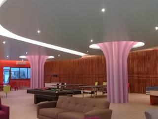 HM Lounge Cancun : Escuelas de estilo  por SG Huerta Arquitecto Cancun