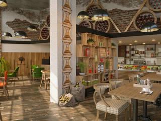 Cihangir GURME & CAFE Emre Bayraktar İç Dekorasyon Ahşap Ahşap rengi