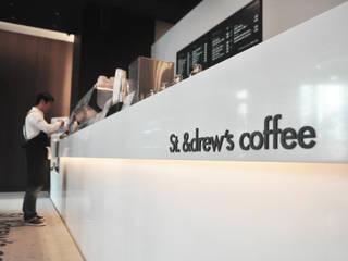 St. &drew's coffee 모던 스타일 바 & 클럽 by The november design group _ 더 노벰버 모던