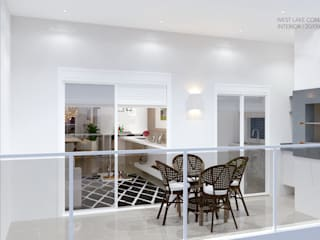 Moderner Balkon, Veranda & Terrasse von Fermatta Arquitetura+Planejamento Modern