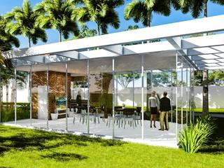 Moderne Häuser von Fermatta Arquitetura+Planejamento Modern