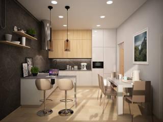 дизайн-бюро ARTTUNDRA Kitchen Grey