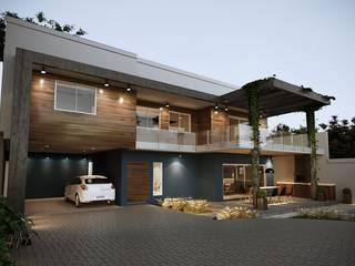 Projeto Casa DF |(Cafundá) Taquara RJ: Condomínios  por Gelker Ribeiro Arquitetura | Arquiteto Rio de Janeiro