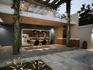 Projeto Casa DF |(Cafundá) Taquara RJ: Cozinhas  por Gelker Ribeiro Arquitetura | Arquiteto Rio de Janeiro