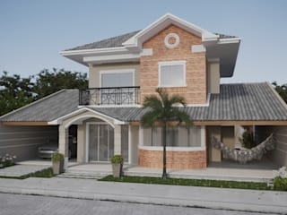 Projeto Casa  de Praia LE |(Casa de praia Cabo-Frio - RJ: Casas  por Gelker Ribeiro Arquitetura | Arquiteto Rio de Janeiro