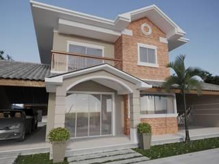 Projeto Casa  de Praia LE |(Casa de praia Cabo-Frio - RJ: Casas pequenas  por Gelker Ribeiro Arquitetura | Arquiteto Rio de Janeiro