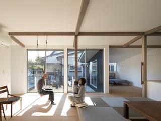 silver モダンデザインの リビング の e do design 一級建築士事務所 モダン