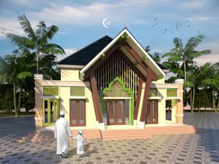 Fasum (Musholla) Pantai Sawarna :   by Artisia Studio
