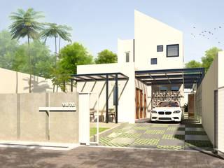 Rumah Tinggal Mr. Jangkar, Surabaya:   by Artisia Studio