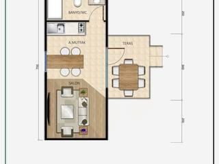 MOVİ evleri บ้านขนาดเล็ก