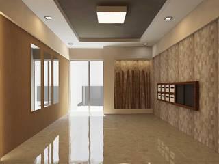 ANTE MİMARLIK Paredes y suelos de estilo moderno