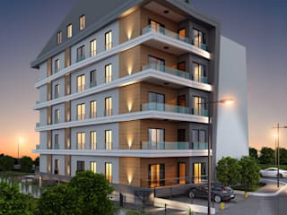 ANTE MİMARLIK  – Avcı İnşaat - İkon Konut:  tarz Apartman