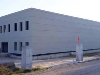 Vip Dekorasyon – Çanakkale Ezine Zeytin Fabrikası İç Cephe Ve Dış Cephe Tasarımı:  tarz Duvarlar