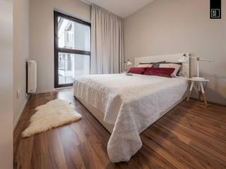 Habitaciones de estilo  por KODO projekty i realizacje wnętrz