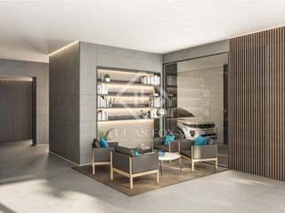 :  غرفة المعيشة تنفيذ Lucas Fox International Properties