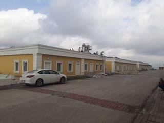 Vip Dekorasyon – Hadımköy İntermat Ambalaj Fabrikası Komple Çatı İzolasyon:  tarz Dükkânlar