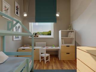 дизайн-бюро ARTTUNDRA Nursery/kid's room Beige