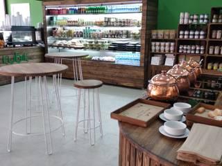 Bider Mimarlık İnşaat Ltd. Şti. – Healthy Court Cafe :  tarz Yeme & İçme