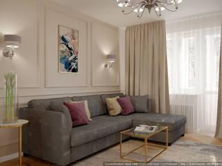 Ruang Keluarga Klasik Oleh дизайн-бюро ARTTUNDRA Klasik
