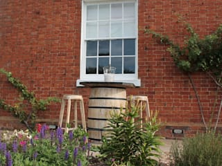 Up-cycled Barrel Bars Eclectic style garden by Garden Furniture Centre Eclectic