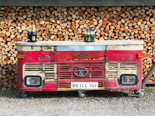 Up-cycled Indian Lorries Eclectic style garden by Garden Furniture Centre Eclectic