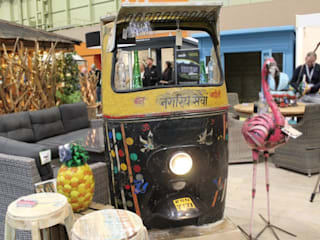 Up-cycled Tuk Tuk Bar Eclectic style garden by Garden Furniture Centre Eclectic