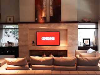 Salones de estilo  de I9 Tecnologia -  Automação & Home Theater