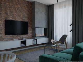 Scandinavian style living room by дизайн-бюро ARTTUNDRA Scandinavian