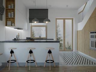 Scandinavian style kitchen by дизайн-бюро ARTTUNDRA Scandinavian