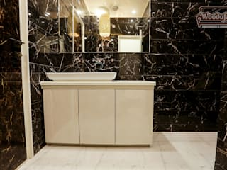 Modern Bathroom Desings:  Bathroom by Woodofa Lifestyle Pvt. Ltd.