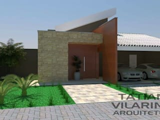 Casa Araxá: Casas  por Arquiteta Tatiana Vilarinho