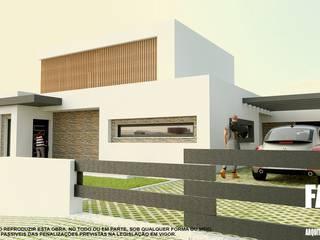 Factor4D - Arquitetura, Engenharia & Construção Casas modernas