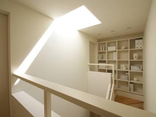 階段: 松岡淳建築設計事務所が手掛けた階段です。