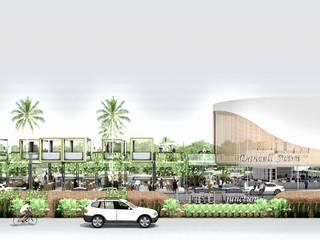 Waru Junction (Gadget Mixed Used Store) Pusat Perbelanjaan Gaya Industrial Oleh A108 Designstudio Industrial
