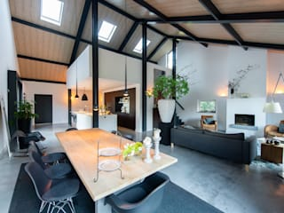 ID-Architectuur Modern living room White