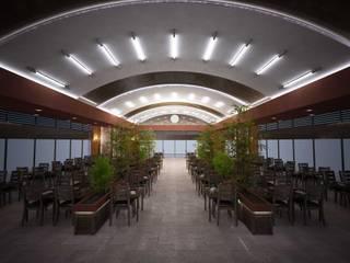 ANTE MİMARLIK Gastronomía de estilo moderno