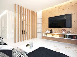 Апартаменты в ЖК VOGUE Минск (Беларусь), общая площадь — 90 м2 от KURILOVICH DESIGN & ARCHITECTURE