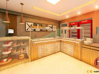 Modern gastronomy by Habitus Arquitetura Modern