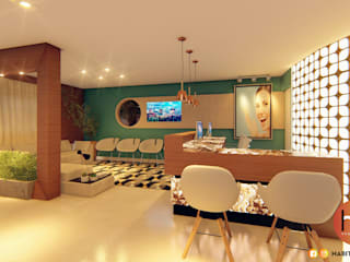 Modern clinics by Habitus Arquitetura Modern