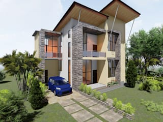 Tampak Samping :   by Adonara Design